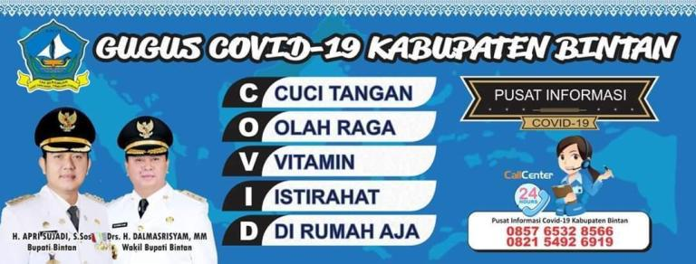 GUGUS COVID19 Bintan